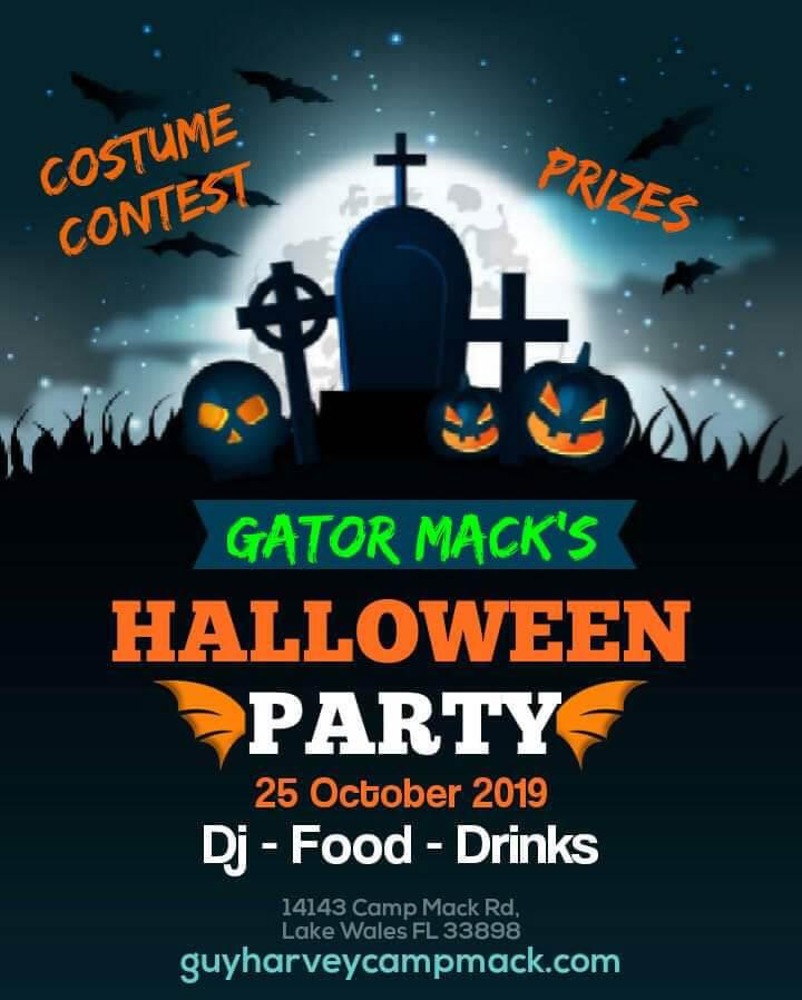 Gator Mack's - Halloween Party