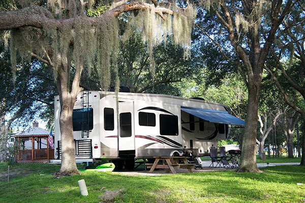 Premium Shaded RV Sites