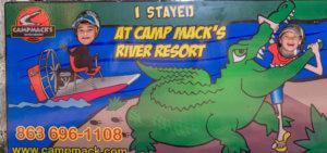 KIDS CRAFTS & ACTIVITIES @ Camp Mack, a Guy Harvey Lodge, Marina & RV Resort